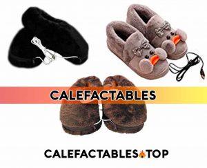Zapatillas termicas pantuflas calefactables